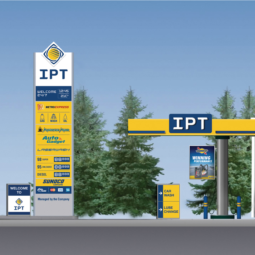 Tagbrands Global - Rebranding IPT Station Gallery