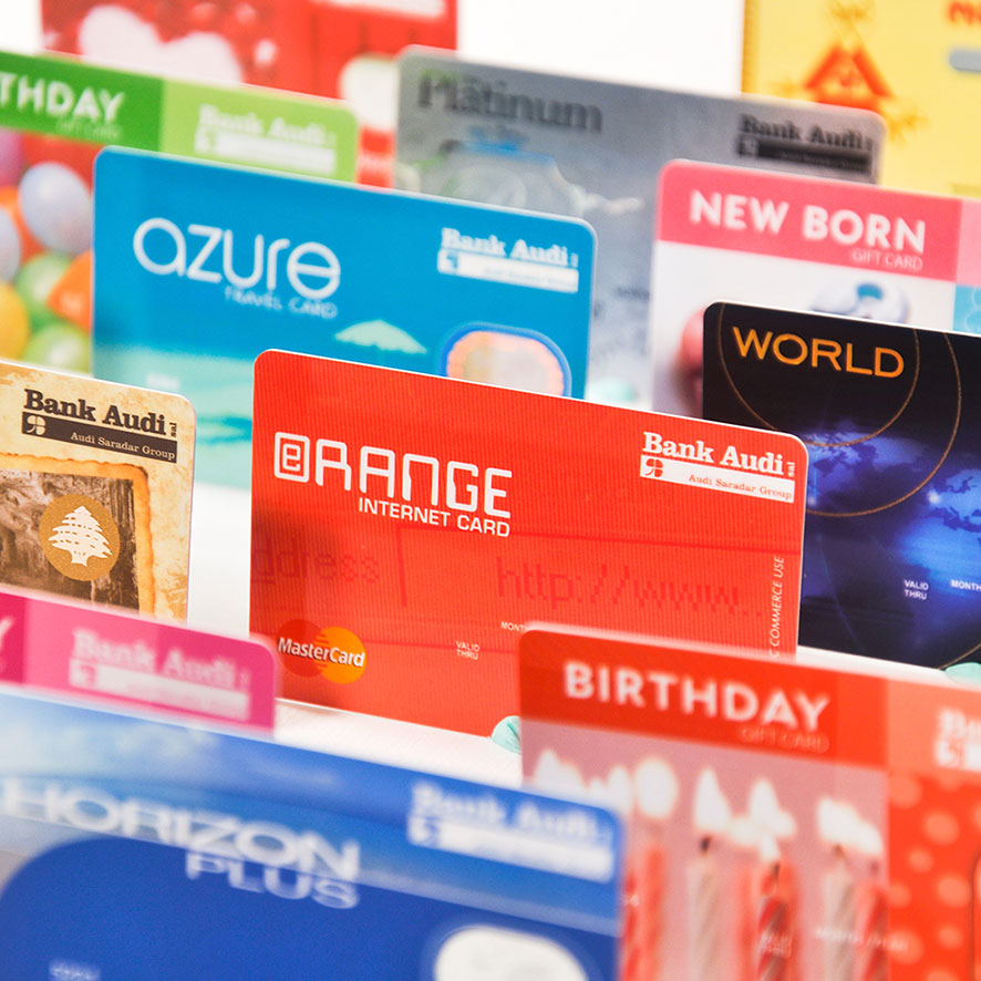 Tagbrands Global - Bank Audi Gallery Visa Cards