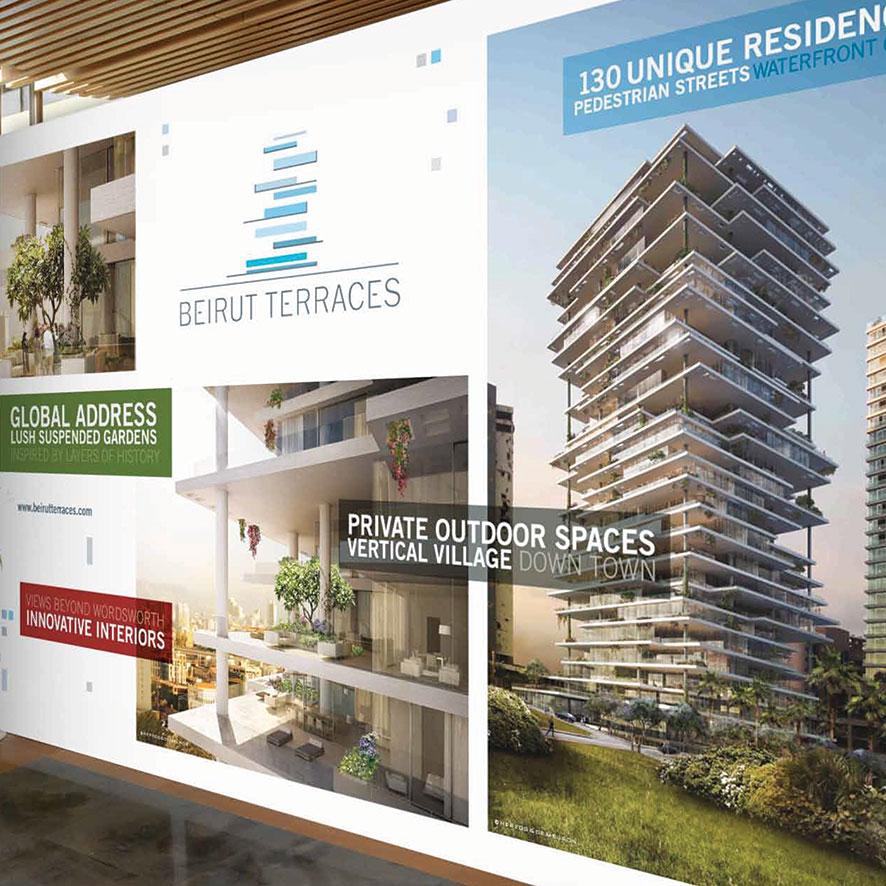 Tagbrands Global - Real Estate Branding Beirut Terraces Gallery