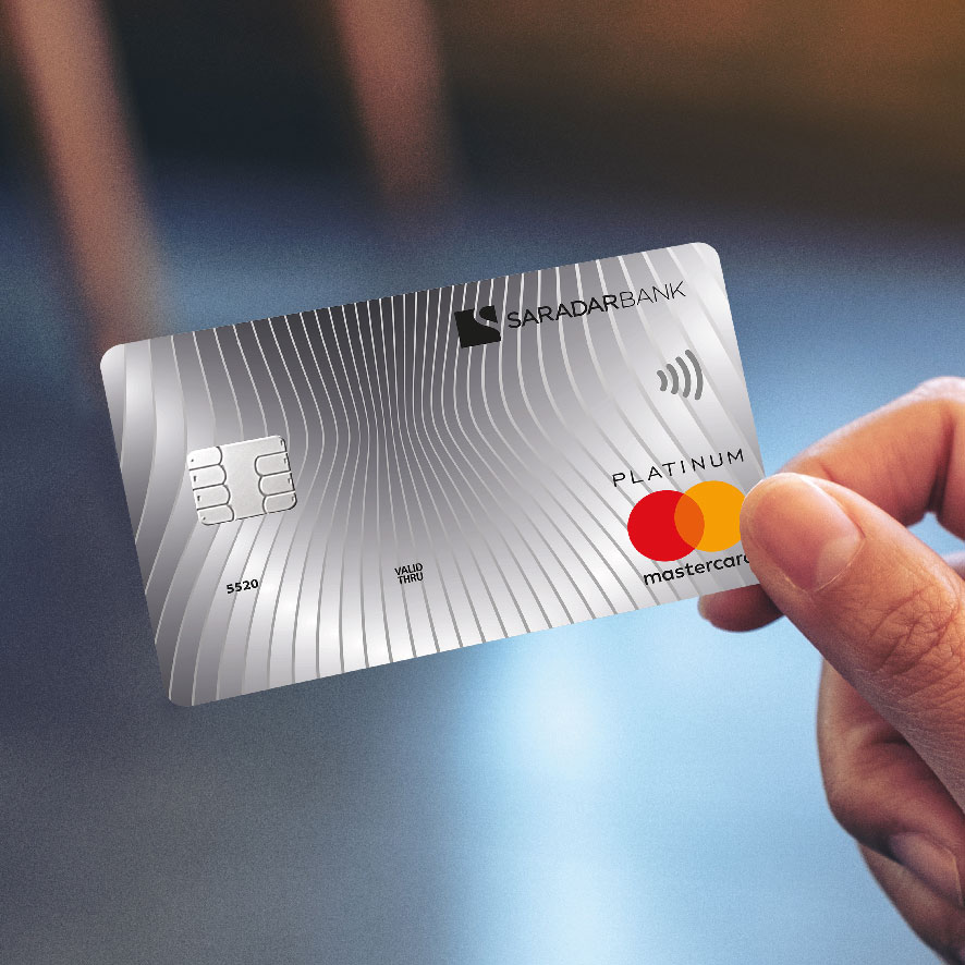 Tagbrands Global - Saradar Bank Gallery Credit Cards